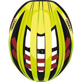 ABUS Aventor Road Helmet neon yellow